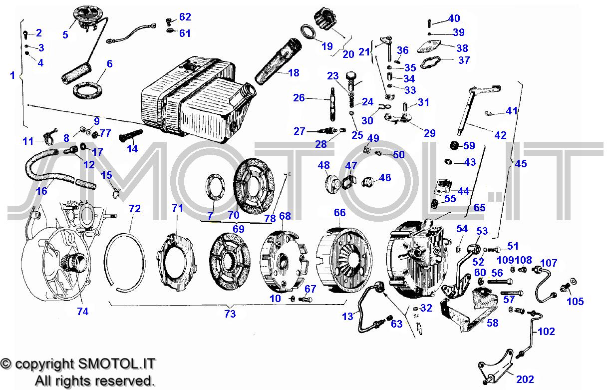 Schema Elettrico Ape Tm 703 : Tav frizione ape motore t a vendita