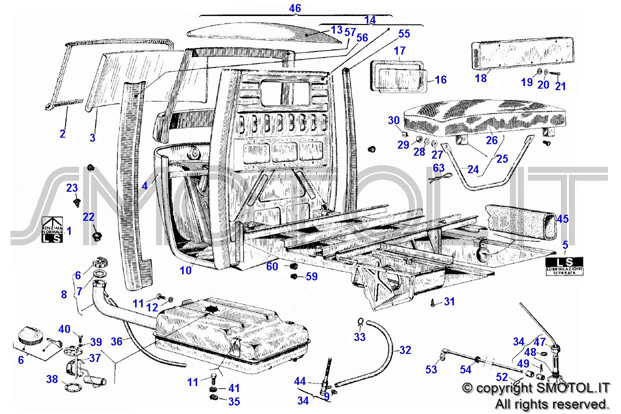 Schema Elettrico Ape Tm 703 : Schema elettrico ape tm piaggio