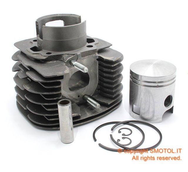 Cilindro E Pistone Per Ape Tm703 Apecar P2 P3 Ape Tm P602
