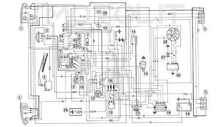 Regolatore tensione per ape 50 rst mix cross 2180605 for Teleruttore schema