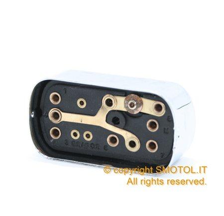 Schema Elettrico Per Deviatori Luci : Devio luci impianto elettrico originale vespa px prima