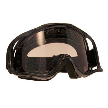 newest d9aa5 48235 Mascherina occhiali modello racing colore NERO per CROSS e ...